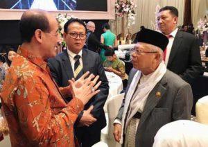 Ketua Umum SNCI dengan Wapres KH Ma'ruf Amin