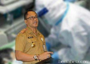 Ketua Harian Pelaksana Pencegahan Penanganan Covid-19 Maluku, Kasrul Selang