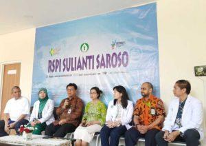 """Konferensi pers di RSPI Sulianti Saroso, Jakarta Utara, Jumat (13/3/2020).(KOMPAS.COM/RYANA ARYADITA) Artikel ini telah tayang di Kompas.com dengan judul """"Pasien Pertama Positif Corona Dinyatakan Sembuh, Sudah Bisa Pulang Sore Ini"""", https://megapolitan.kompas.com/read/2020/03/13/11352541/pasien-pertama-positif-corona-dinyatakan-sembuh-sudah-bisa-pulang-sore?page=all. Penulis : Ryana Aryadita Umasugi Editor : Jessi Carina"""