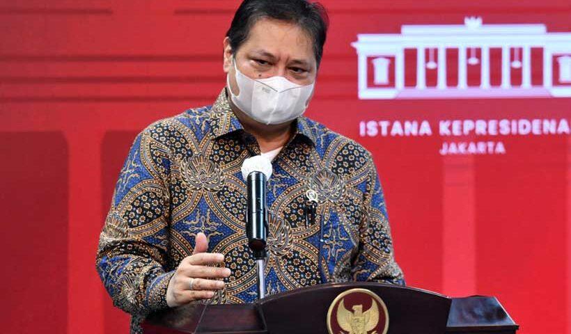 Ketua KPCPEN Airlangga Hartarto