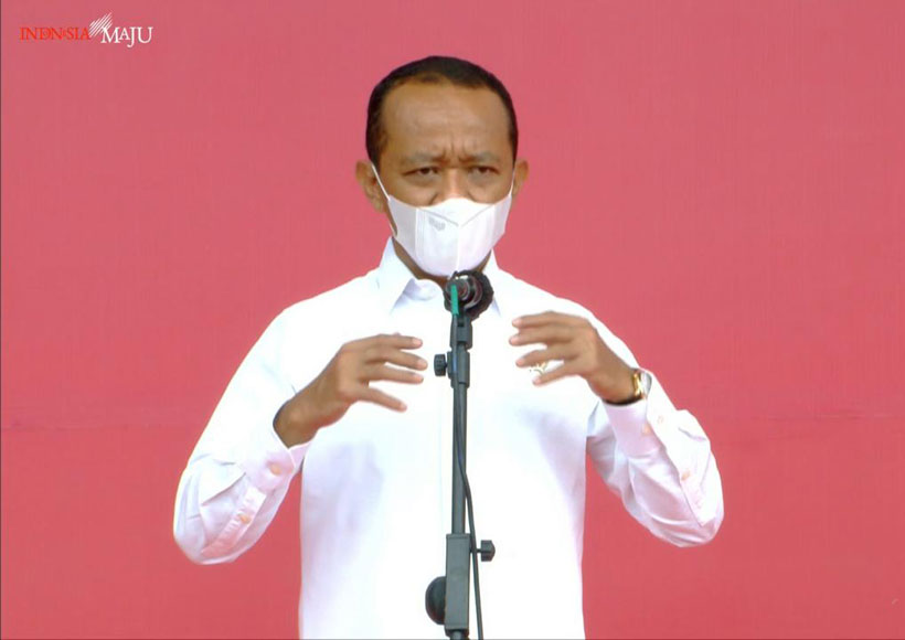 Menteri Investasi/Kepala BKPM Bahlil Lahadalia