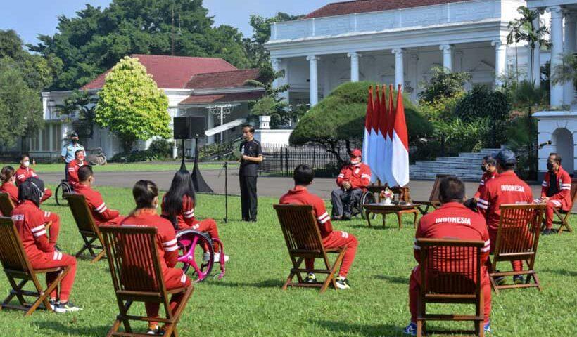 Presiden Jokowi Serahkan Bonus Apresiasi bagi Atlet Indonesia di Paralimpiade Tokyo