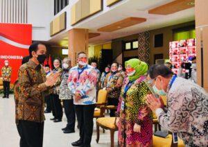 Pertemuan Majelis Rektor PTN, Presiden Jokowi: Lahirkan Mahasiswa Unggul dan Utuh